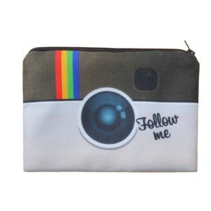 Follow me on IG makeup bag